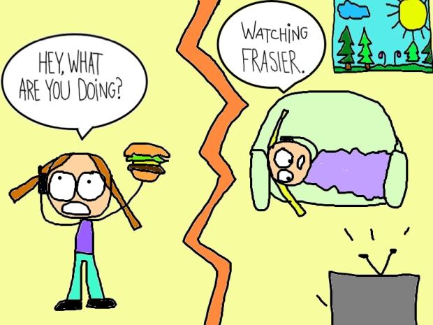 watching fraisier